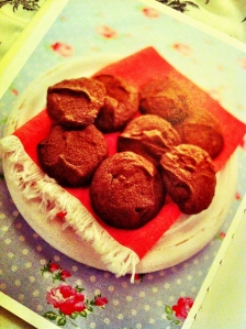 Chocolate & Treacle Biscuits